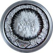 OL 2000 i Sydney - Sølvmønt med myrepindsvin