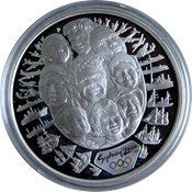 OL 2000 i Sydney - Sølvmønt med ansigter