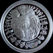 Olympische Spelen 2000 in Sydney - Zilveren munt met gezichten
