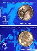 JO 2000 Sydney en bronze Volleyball/taekwondo