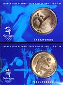 Olympische Spelen 2000 - Bronzen munt Volleyball /  Taekwondo