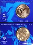 OL 2000 Bronzemønt-kollektion Volleyball/taekwondo