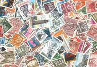 Denmark - 365 different stamps