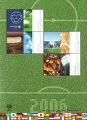 Allemagne - Football '06 - Bloc-feuillet neuf