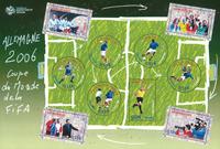 Frankrig 2006 - VM i fodbold - Postfrisk miniark