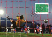 Liechtenstein - Coupe du Monde de football 2006 - Carte maximum