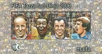 Malta 2006 - VM i fodbold - Postfrisk miniark
