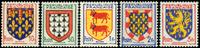 Frankrig - Våbenskjold YT899-903