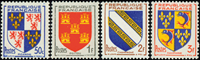 France - YT 951-954