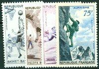 Frankrig - YT1072-1075