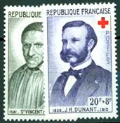 Croix rouge YT1187-1188