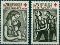 Frankrig - Røde kors YT1323/1324
