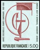Frankrig - YT 2551 utakket