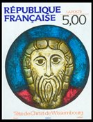 France - YT - 2637 Head of Christ de Wissembourg