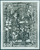 France - YT 2730 - Work of Francois Rouan *Volta faccia*