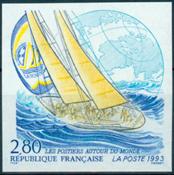Frankrig - YT 2831 utakket
