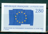 Frankrig - YT 2860 utakket