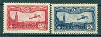 Frankrig - YT PA 05-06 postfrisk