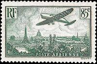 Frankrig - YT PA 8-13 postfrisk