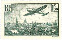 France 1936 - YT PA9 - Neuf