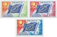 France - YT 46-48 service - Neuf