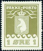 Grønland - Pakkeporto - AFA nr. 4 postfrisk