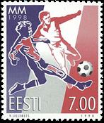 Estonia 1998 - FIFA World Cup - Mint stamp