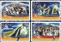Grækenland 2004 - EM i fodbold - Postfrisk sæt 4v