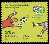Ungarn 2006 - VM i fodbold - Postfrisk frimærke