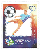 Cyprus 2006 - FIFA World Cup - Mint stamp