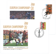European Championship football 2002 - 2 covers