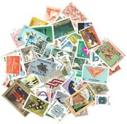 Worldwide - 100 different stamps - From 100 countries - Mint