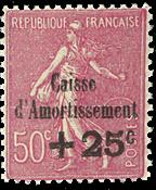 Frankrig - YT 254 - Postfrisk