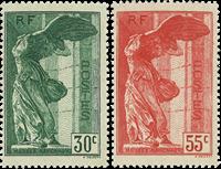 Frankrig - YT 354-55 - Postfrisk
