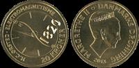 Videnskabsmønt H.C.Ørsted 20 kr