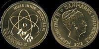 Videnskabsmønt Niels Bohr 20 kr