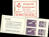 Danmark 1940 - frimærkehæfte 2 kr. H.32