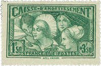 Frankrig - YT 269 - Postfrisk
