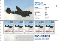 Netherlands - Airplanes Douglas Dakota - Mint souvenir sheet