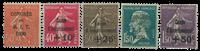 Frankrig - YT 264-68 - Postfrisk