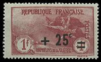 Frankrig - YT 168 - Postfrisk