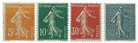 France - YT 158-61 - Mint