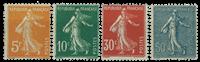 Frankrig - YT 158-61 - Postfrisk