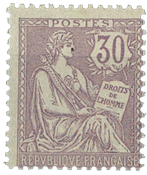 France - YT 128 neuf