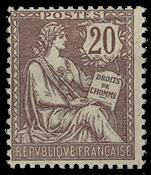 Frankrig - YT 126 - Postfrisk
