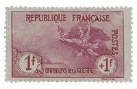 Frankrig 1917 - YT 154 - Ubrugt