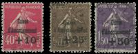 Frankrig 1930 - YT 266-68 - Stemplet