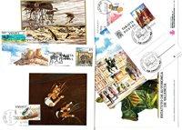 Spanien - Maxikort 1960-1994 - Dubletlot