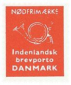 Danemark - Timbres d'urgence