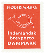 Danmark nødfrimærke